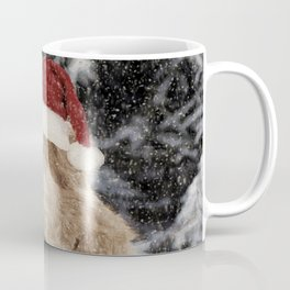 A Golden Christmas Coffee Mug