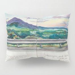 Mountains in Virginia Pillow Sham