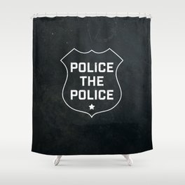 Police The Police Shower Curtain