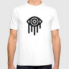 WEEPING Mens Fitted Tee SMALL White