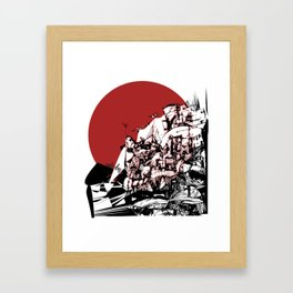 urban athens Framed Art Print