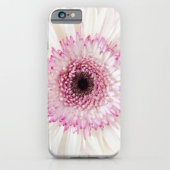 Pink gerbera iPhone & iPod Case