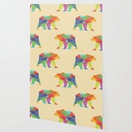 Fractal Geometric bear Wallpaper