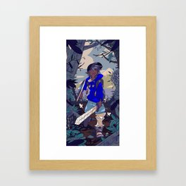 Forest Quest Framed Art Print