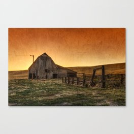 Memories of Harvest Canvas Print