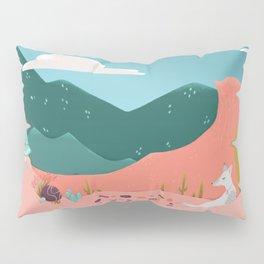 Pink Desert Pillow Sham