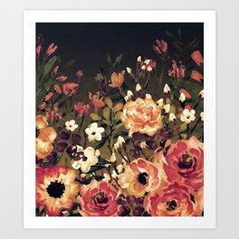 Vintage Garden 2 (Tropical Paradise) Art Print