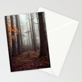 Within the Ominous Trees Stationery Cards