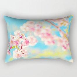 Spring Cherry Blossom Rectangular Pillow
