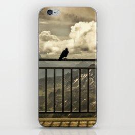 Sass Pordoi Terrace iPhone Skin