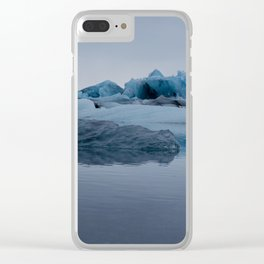 Glaciers Clear iPhone Case