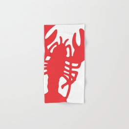 Red Lobster Hand & Bath Towel