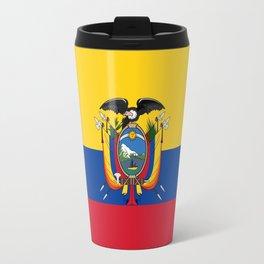 Flag of Ecuador -ecuadorian,Inca,Kichwa,Quito,america, South america,Spanish,Amazonia,latin america Travel Mug