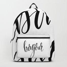 Bonjour Backpack