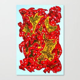 Felipe's Inferno Canvas Print
