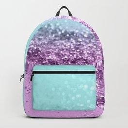 Mermaid Girls Glitter #5 #shiny #decor #art #society6 Backpack