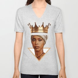 Erykah Badu illustration Unisex V-Neck