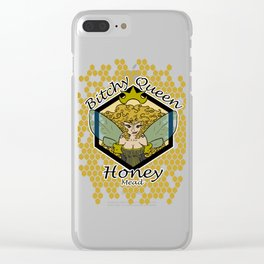 Bitchy Queen Honey Clear iPhone Case