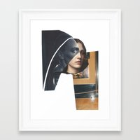 religion Framed Art Prints featuring Religion by Pia Hakko