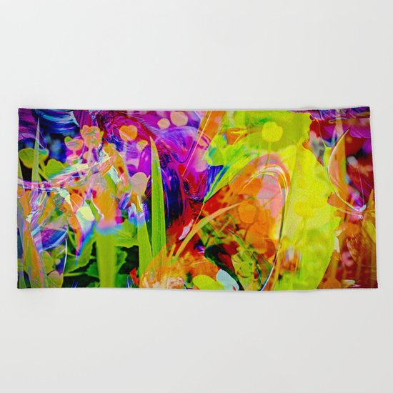 Nature Abstract 2 Beach Towel