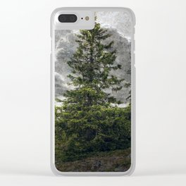 Where The Trolls Live Clear iPhone Case