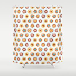 Casino Chip Pattern Shower Curtain