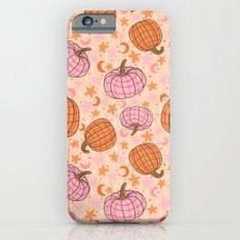 Pumpkin Print iPhone Case