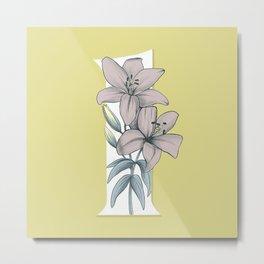 Lily  Metal Print