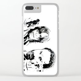 Brothers in arms Clear iPhone Case