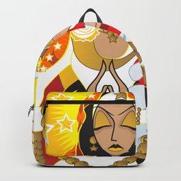 La Virgen de la Caridad del Cobre Backpack