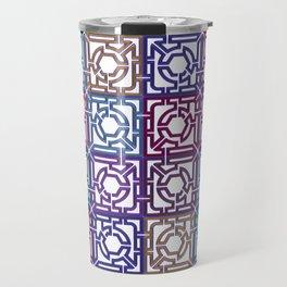 Colorful Maze V Travel Mug