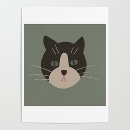 Mr Kitty the fat cat. Poster