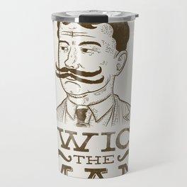 Twice the Man Travel Mug