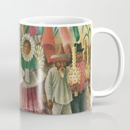 Mexico South by Miguel Covarrubias Coffee Mug