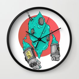 Gooey Sentinel  Wall Clock