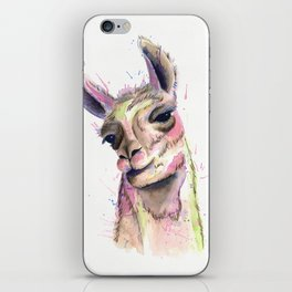 Happy Llama iPhone Skin