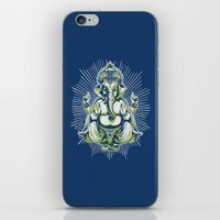 ganesh iPhone & iPod Skins featuring Ganesh by Scalifornian