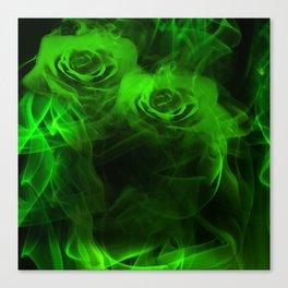 Smokey Roses Canvas Print