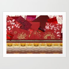 Do you have something in red? Art Print