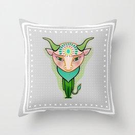 taurus zodiac sign Throw Pillow