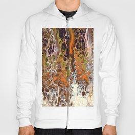 Autumnal ferns Hoody