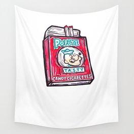 Popeye Smokes  Wall Tapestry