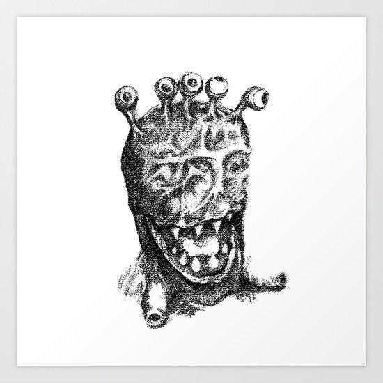 Muleye Art Print