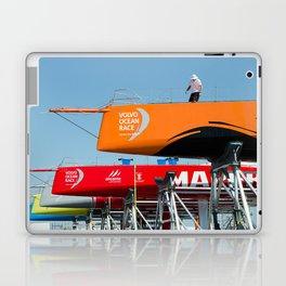 Ocean race sky Laptop & iPad Skin