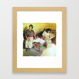 Hilaria Framed Art Print