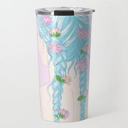 flower braids Travel Mug