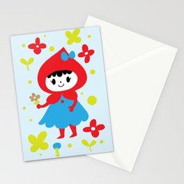Red Riding Hood in the Forest Stationery Cards