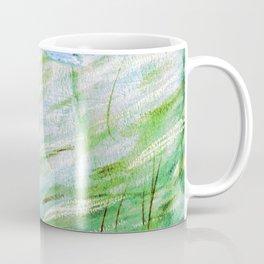 Egret in Green Coffee Mug