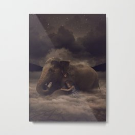 Having a Soft Heart In a Cruel World II Metal Print