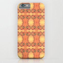 Ebola Tapestry-2 by Alhan Irwin iPhone Case